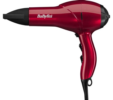 Hair Dryer Light buy babyliss salon light ac 2100 hair dryer free delivery currys