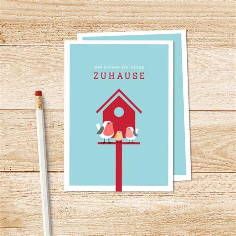 suhe haus zuhause gesucht postkarten entwurf