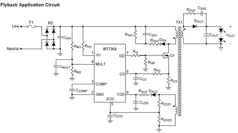 smps layout guidelines 230v led driver circuit pdf circuit and schematics diagram