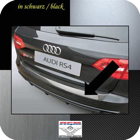 Ladekantenschutz Audi A4 Avant by Rgm Passform Ladekantenschutz Aus Abs Kunststoff Farbe Schwarz