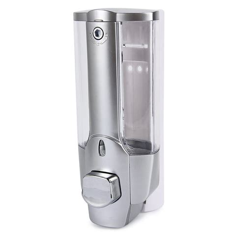 Dispenser Quality high quality 350ml soap dispenser wall mount shower bath liquid soap shoo dispenser for