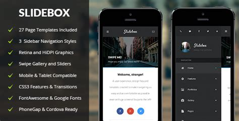 themeforest appbar mobile tablet responsive template themeforest slidebox mobile tablet responsive