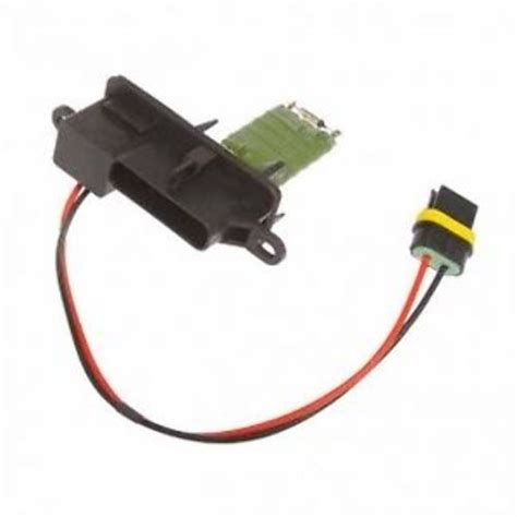 where is the heater blower resistor located on a corsa heater blower motor resistor new direct automotive products