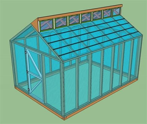 Greenhouse House Plans by 15 Free Greenhouse Plans Diy