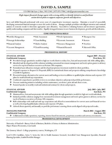 Career Advisor Resume by 123 Best Letter Exles Images On