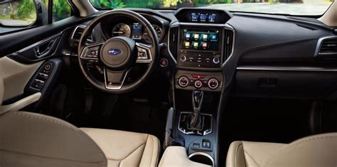 subaru impreza 2017 interior 2017 subaru impreza hatch and sedan gallery
