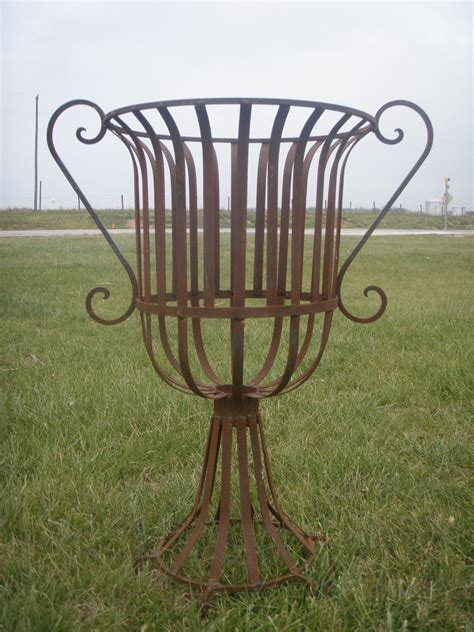 Iron Planters For Outdoors by Wrought Iron Large 36 Quot Urn