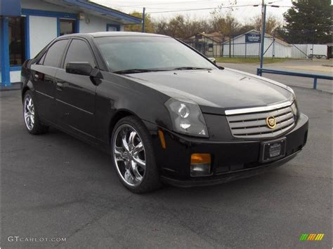 2004 cadillac cts sedan 2004 black cadillac cts sedan 21993075 photo 4
