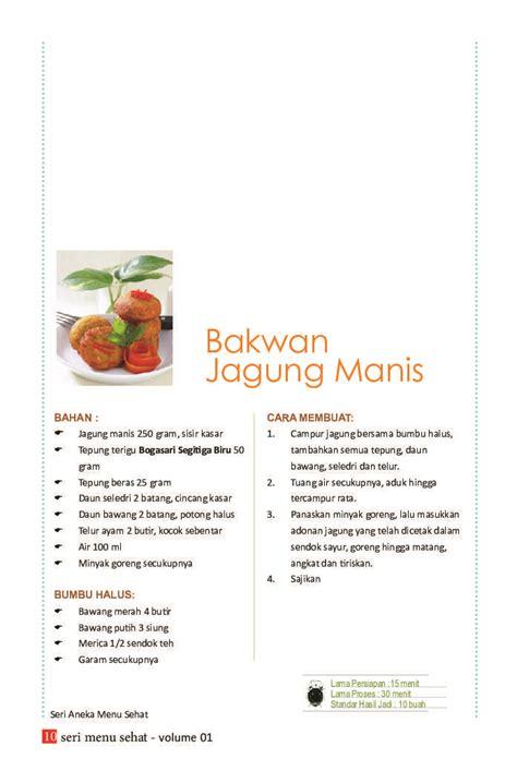 Buku Aneka Resep Menu Istimewa Untuk Diet Sehat Golongan Darah jual buku buku seri aneka menu sehat volume 01 18 resep menu sehat membuat sajian rendah