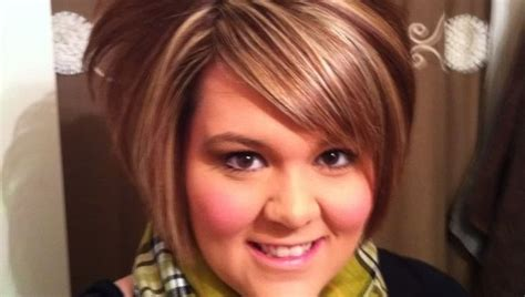 plus size women with angle bob hairstyle hairstyles for plus size women plus size hairstyles 28