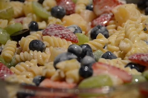 Recipe: Pasta Fruit Salad