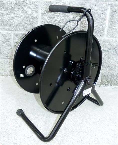 portable cable storage reel large
