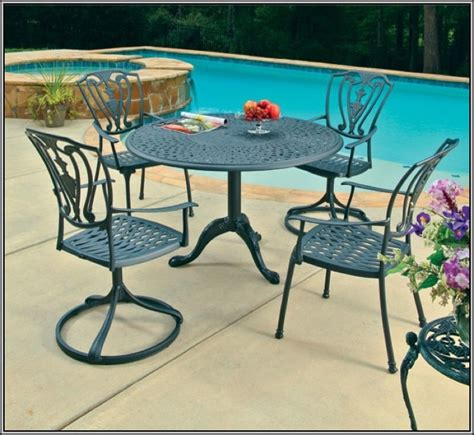 cast aluminum patio furniture vs wrought iron general