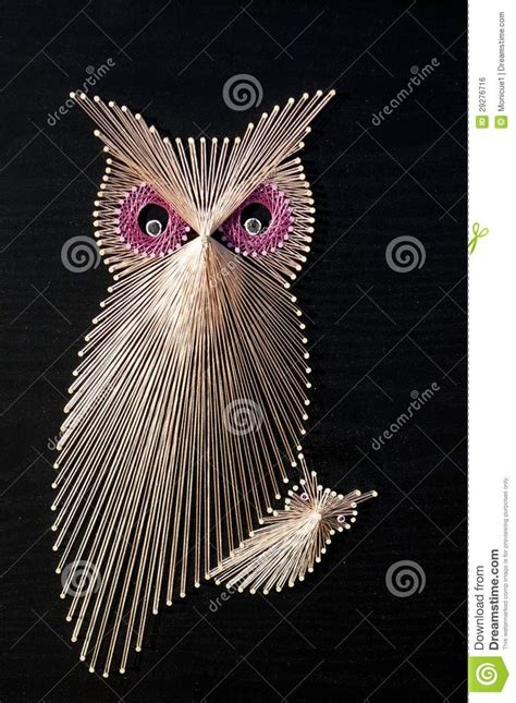 String Patterns Owl - 17 best images about string on string