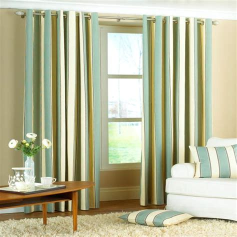 stripes curtains 4 kinds of green striped curtains