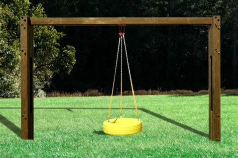 free standing tire swing commercial swing sets planet playgrounds inc