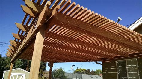 what is a pergola what is max distance between posts using 2x12x20 foot