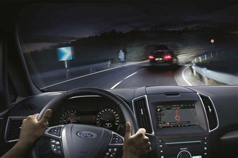 ford develops  glare  high beam technology autocar india