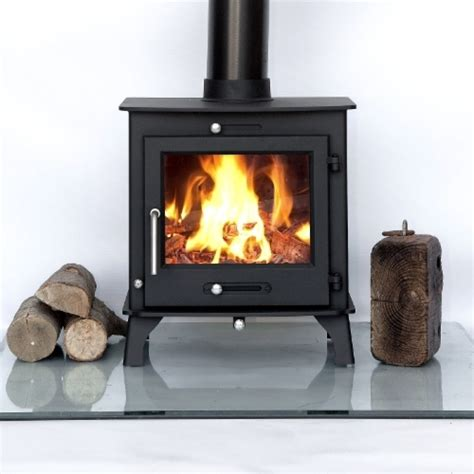 7 8kw Ottawa Clean Burn Contemporary Wood Burning Multi Fuel Burning Fireplaces
