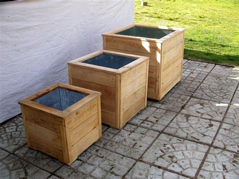 bamboo planter box bamboo planters large cedar planter boxes architectural