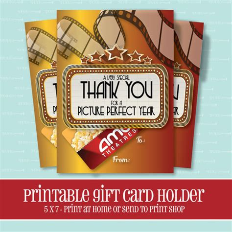 Fast Card Gift Card - instant download movie gift card holder picture perfect