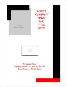 free page template cover sheet 13 free word pdf documents