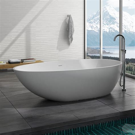 curved freestanding bath tub 75 x 39 adm bathroom design oval freestanding bath tub 70 quot x 39 quot adm bathroom design