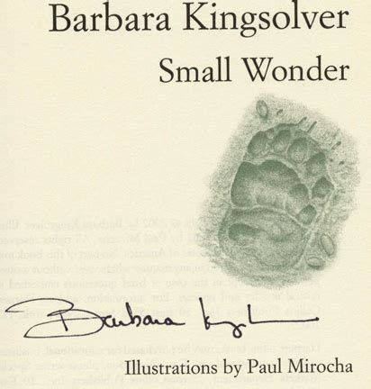 Barbara Kingsolver Essays by Small Essays 1st Edition 1st Printing Barbara Kingsolver Books Tell You Why Inc