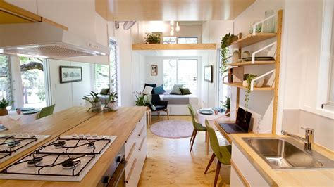 this midcenturyinspired tiny house radiates clever design