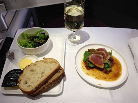 Turkish Main Dishes - qantas a380 business class review qf127 sydney to hong kong point hacks