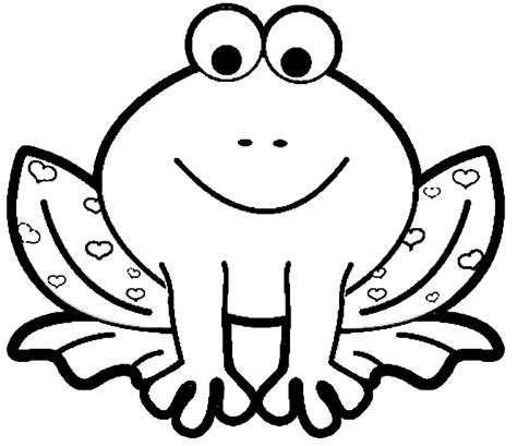 F Frog Coloring Page by Frog Coloring Pages