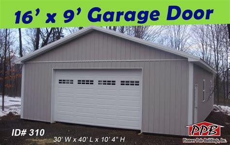 8 X 16 Garage Door Check Out This Wide Garage Door Openings 1 16 X 9 Residential Garage Door With 4 Windows