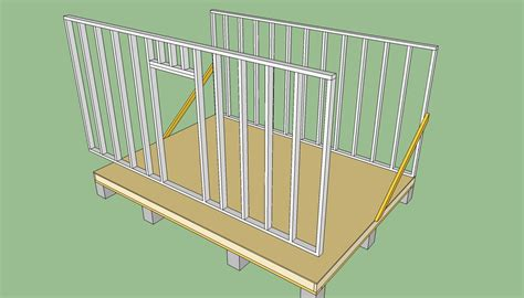 Shed Floor Design by Shedfor Floor Joist Spacing For A Shed