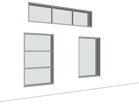 revit tutorial window family revit parametric picture fixed window families with grid