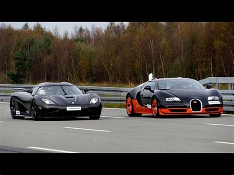 Which Is Faster Bugatti Or Koenigsegg Bugatti Veyron Grand Sport Vitesse Takes On Koenigsegg