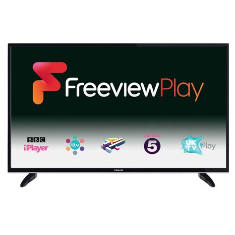 led fußleiste finlux 49 quot 4k ultra hd smart led tv with freeview play and