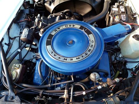 ford 460 engine history 1968 lincoln continental sedan