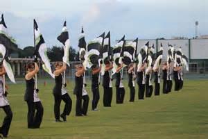high school color guard color guard gulf high school buccaneer band