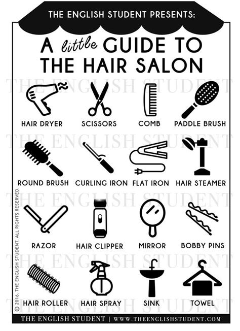 glossary of hairstylist terms from 164 best all things for learners images on