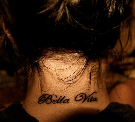 life is beautiful tattoo la vita