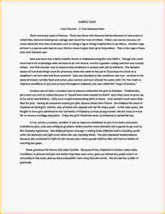 College Essay Exles by Great Exle Of College Essay