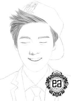 exo chibi coloring pages 1000 images about me on pinterest chibi suho and