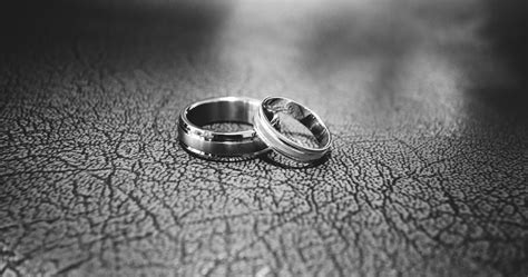 Wedding Rings On by Up Of Wedding Rings On Floor 183 Free Stock Photo