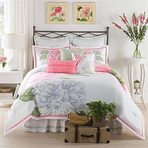 peony bedding new york botanical gardens peony bloom comforter set in