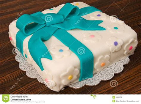 fondant kuchen aufbewahren fondant geschenk kuchen stockfoto bild kuchen