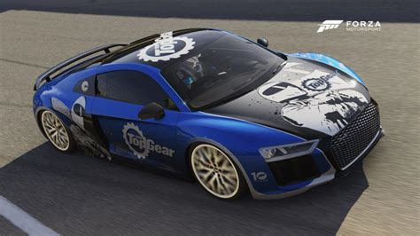Top Gear Audi R8 by Top Gear Forza Challenge No 4 Audi R8 At Laguna Seca