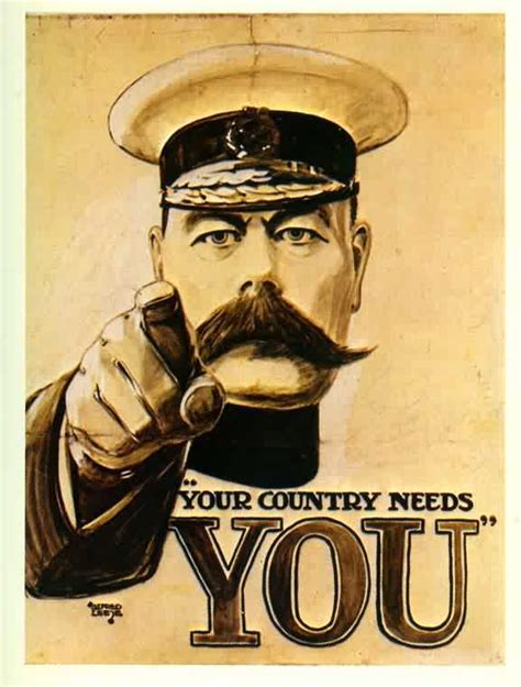 Kitchener Poster Font by Your Country Needs You