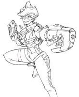 Sprei Karakter Mr Wolf And Friend Coloring Pages Overwatch Drawing