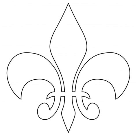 fleur de lys outline free stock photo public domain pictures
