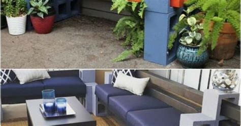 cinder block furniture backyard how to make a bench from cinder blocks 10 amazing ideas